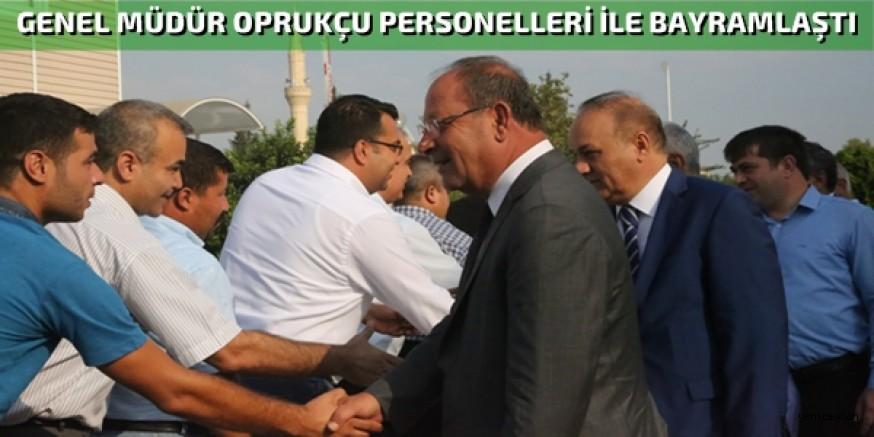 Adana ASKİ'de Bayramlaşma