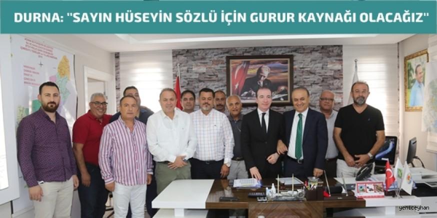 Adana ASKİ Spor'da Devir Teslim Töreni