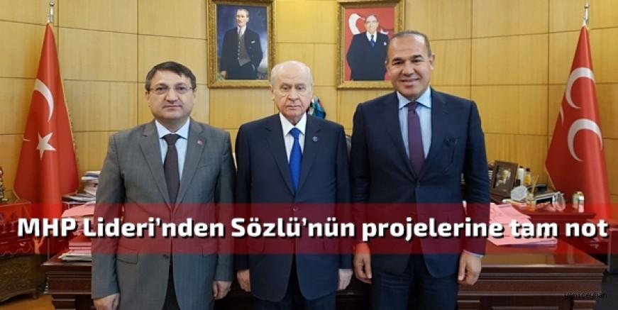 Başkan Sözlü'den Lider Bahçeli'ye hizmet brifingi