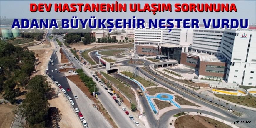 Adana Büyükşehir ulaşımın lokomotifi