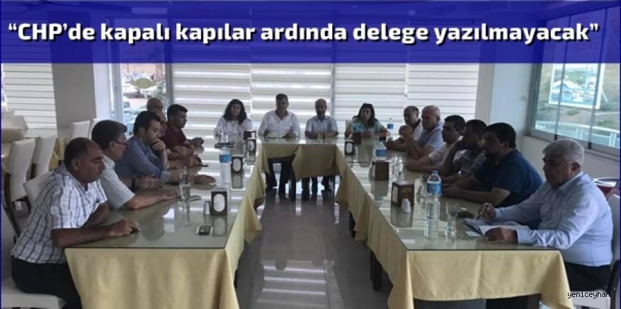 Adana İl Örgütü Kılıçdaroğlu'na iktidar sözü verdi