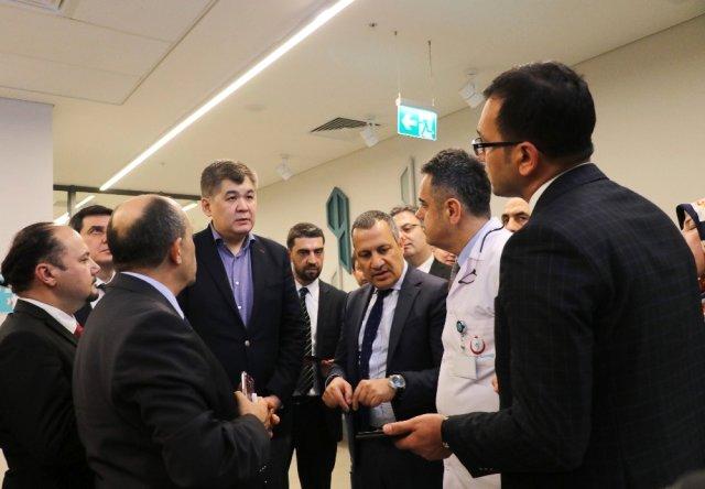 Adana Şehir Hastanesi Kazakistan'a Model Oldu