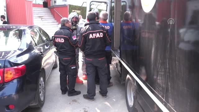 Adana'da Radyoaktif Madde Operasyonu (2)