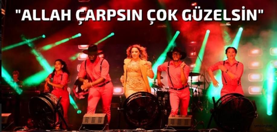 Adanalılar Hadise konseriyle coştu