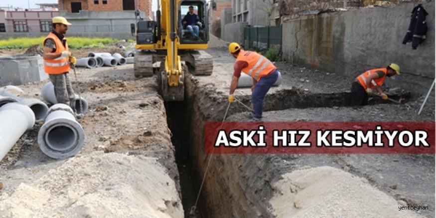 ASKİ'DEN DAĞLIOĞLU MAHALLESİ'NE ALTYAPI YATIRIMI