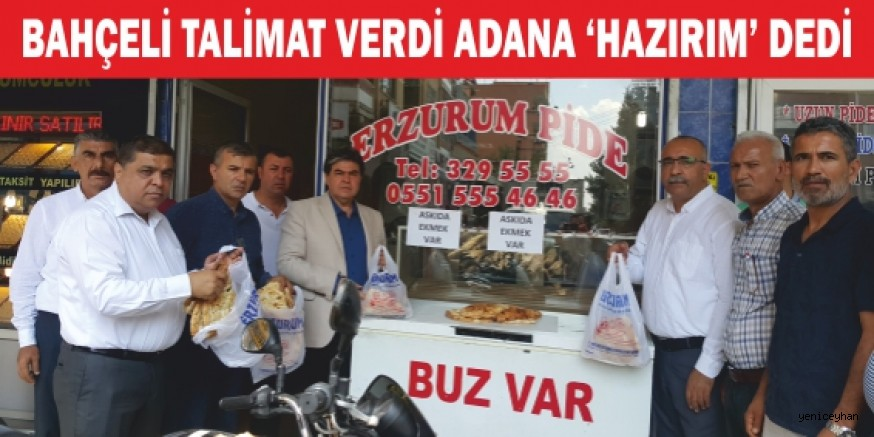 """""""Askıda ekmek""""te ilk adım Adana'dan!"""