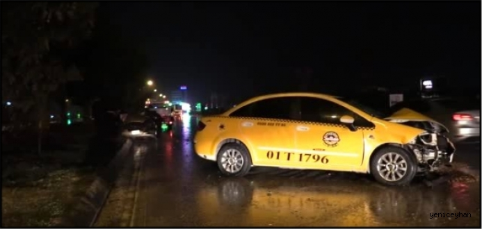 Aynı Yönde Giden İki Otomobil Çarpıştı: 2 Yaralı