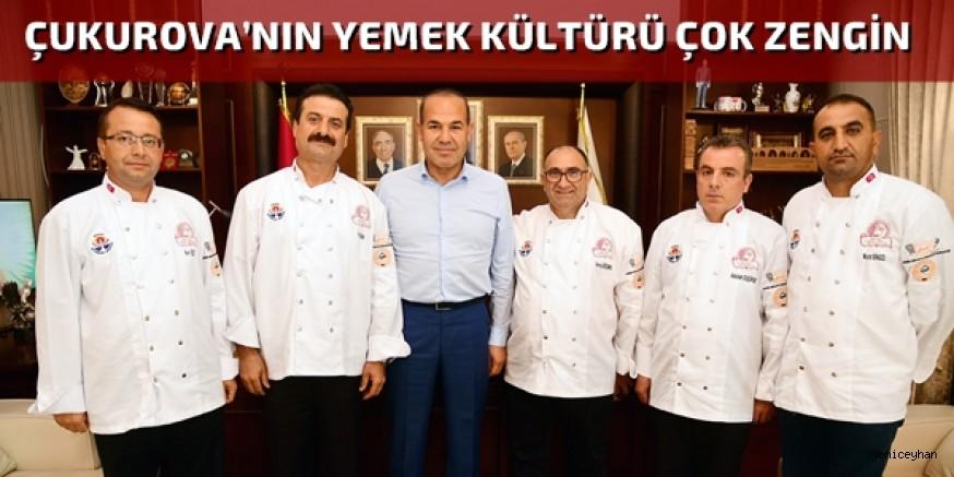 Başkan Sözlü, Adanalı aşçılara güç verdi