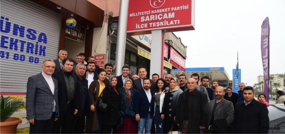 """Başkan Sözlü: """"MHP yetiştiğimiz yuvadır, demokratik fırsatlar hareketidir"""""""