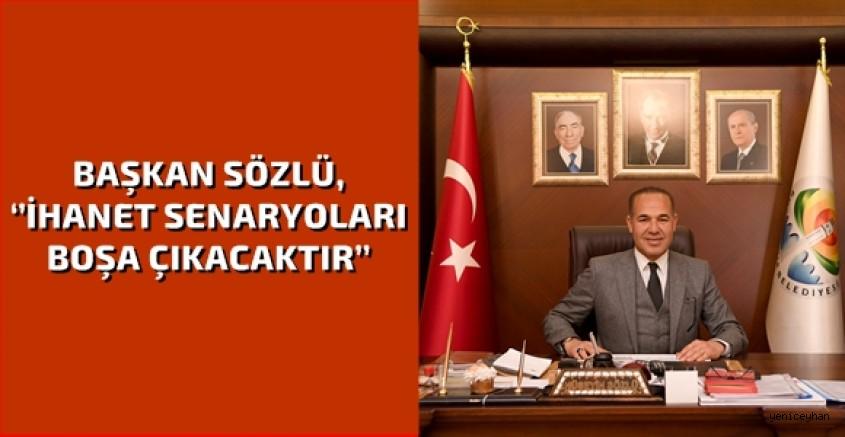 Başkan Sözlü: ''Türk'ün ebedi Başkomutanı Atatürk'tür''