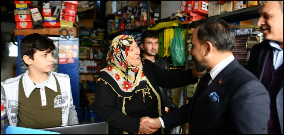 Başkan Uludağ seçim çalışmalarına aralıksız devam ediyor
