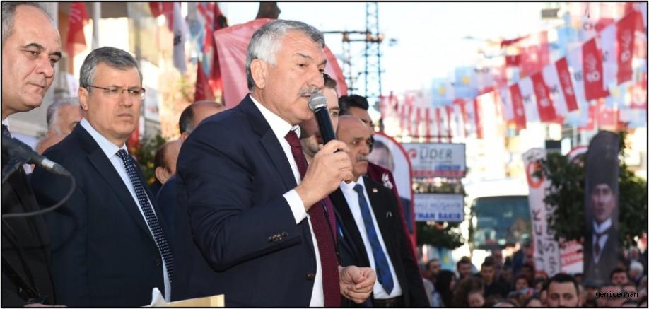 Başklan Karalar Ceyhan'da SKM Açılışına Katıldı