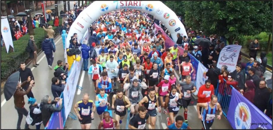 Büyük maratona rekor katılım