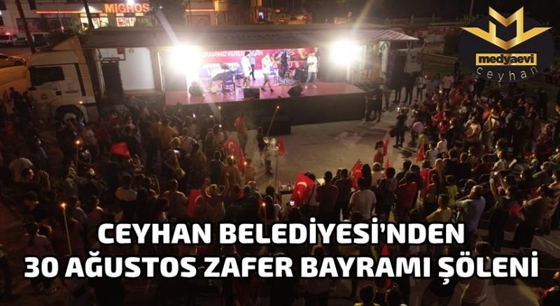 Ceyhan Belediyesi'nden 30 Ağustos Etkinlikleri
