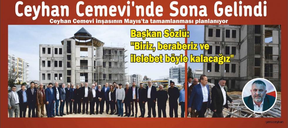 Ceyhan Cemevi inşasının Mayıs'ta tamamlanması planlanıyor