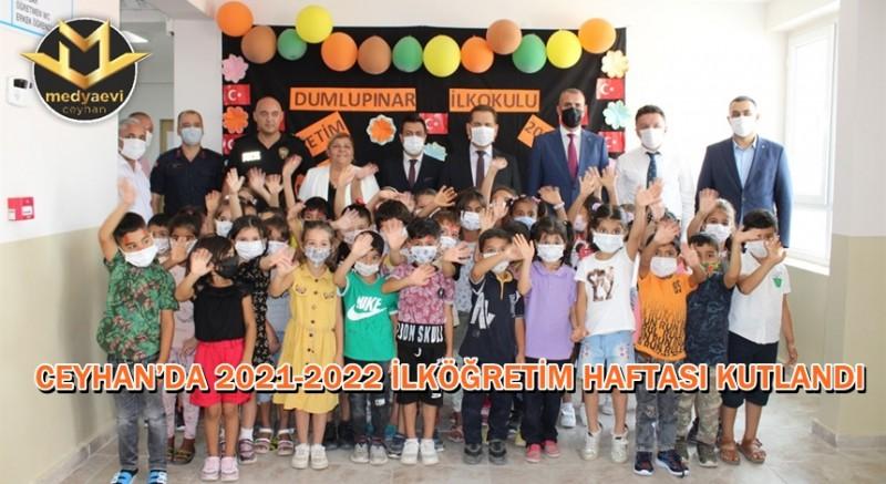 Ceyhan'da İlköğretim Haftası bir dizi etkinliklerle kutlandı