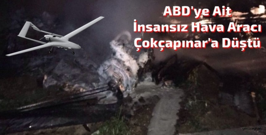 Ceyhan'da İnsansız Hava Aracı Düştü