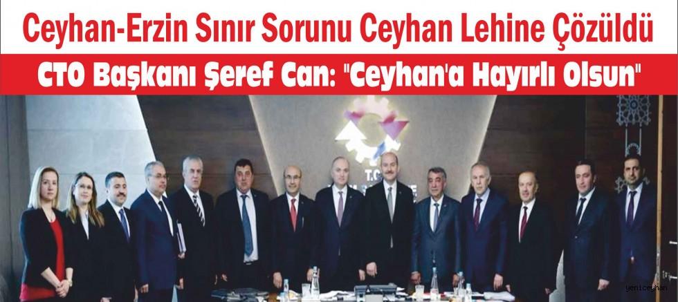 Ceyhan-Erzin Sınır Sorunu Ceyhan Lehine Çözüldü