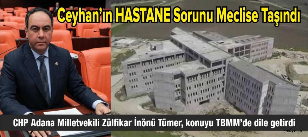 Ceyhan'ın Hastane Sorunu Meclise Taşındı