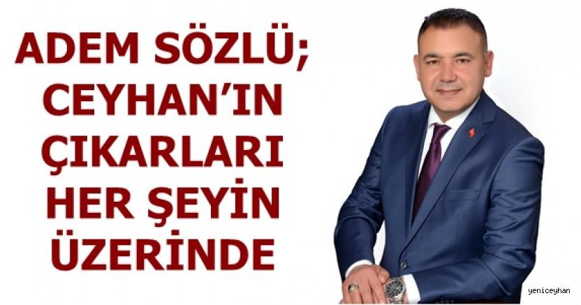 Ceyhan Ticaret Borsası başkanlık seçiminde Adem Sözlü rüzgarı