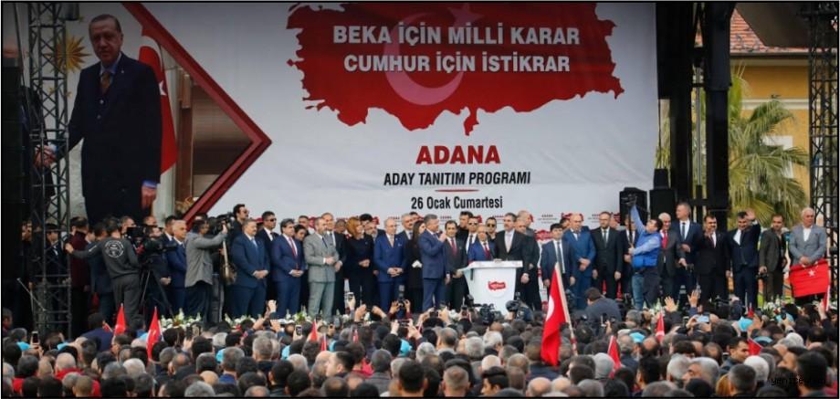 Cumhur İttifakı'nın Aday Tanıtım Toplantısı mitinge dönüştü