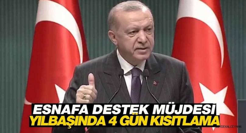 Cumhurbaşkanı Erdoğan açıkladı! Esnafa 500 ile 750 TL Kira Desteği