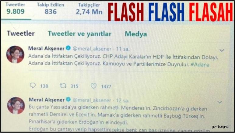 İYİ Parti ADANA'DA ZEYDAN'dan desteğini HDP gerekçesiyle çekti!!!!