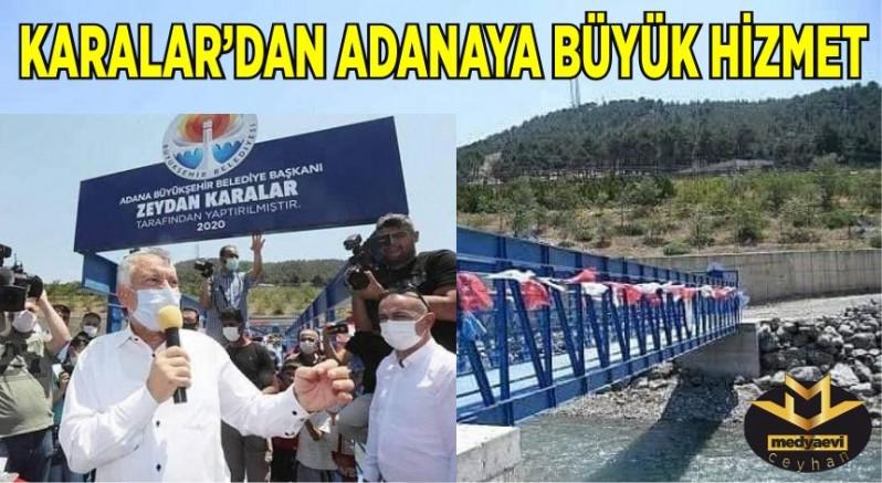 Karalar'dan Adana'ya Asrın Hizmeti