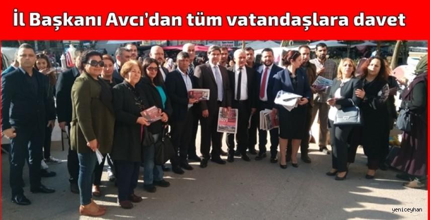 MHP Adana'da Bahçeli seferberliği