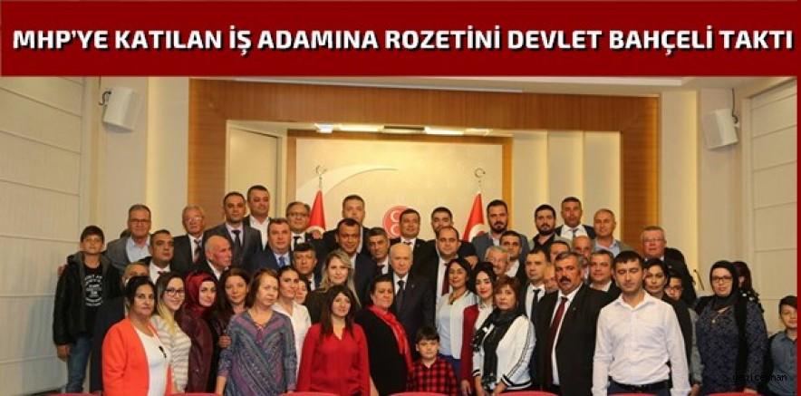 MHP Ceyhan İlçe Teşkilatı'ndan Ankara Ziyareti