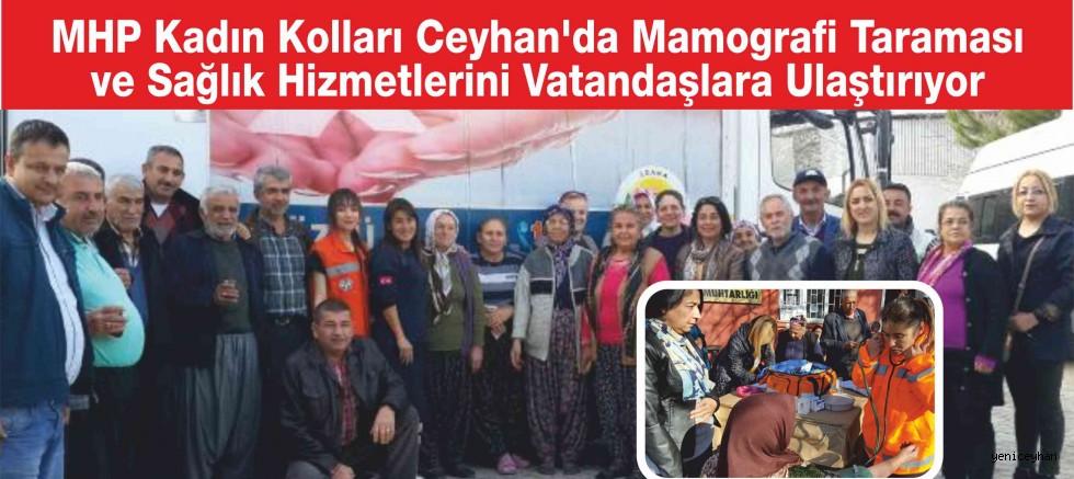 MHP Kadın Kollarından Sağlık Hizmeti
