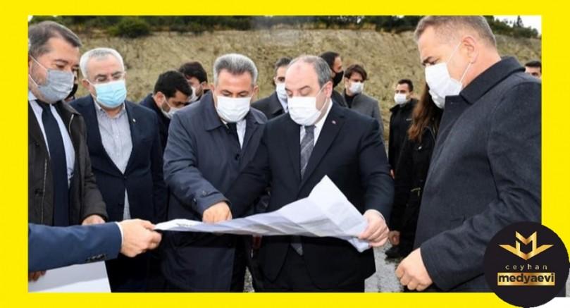 Sanayi ve Teknoloji Bakanı Varank, Ceyhan OSB'de incelemelerde bulundu
