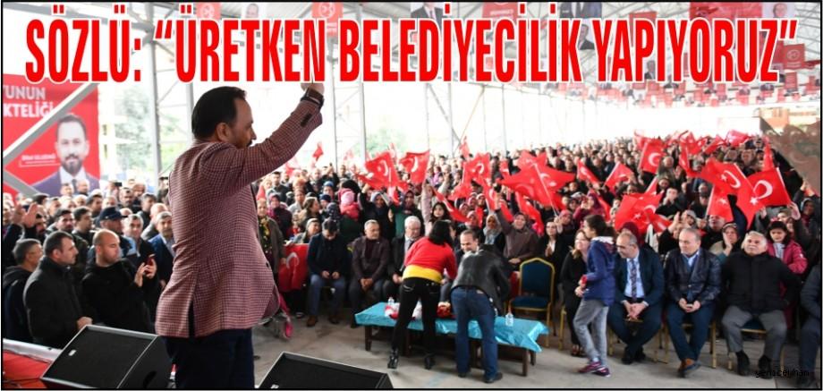 Sarıçam Belediyesi'nden Coşkulu kalabalık eşliğinde Kapalı Semt Pazarı açılışı