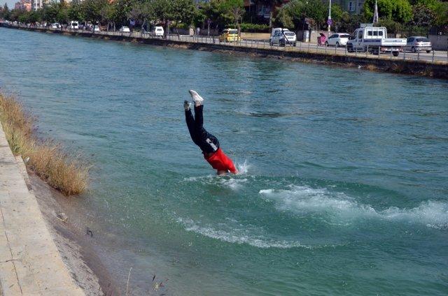 Sulama Kanallarında Tehlikeli Serinlik