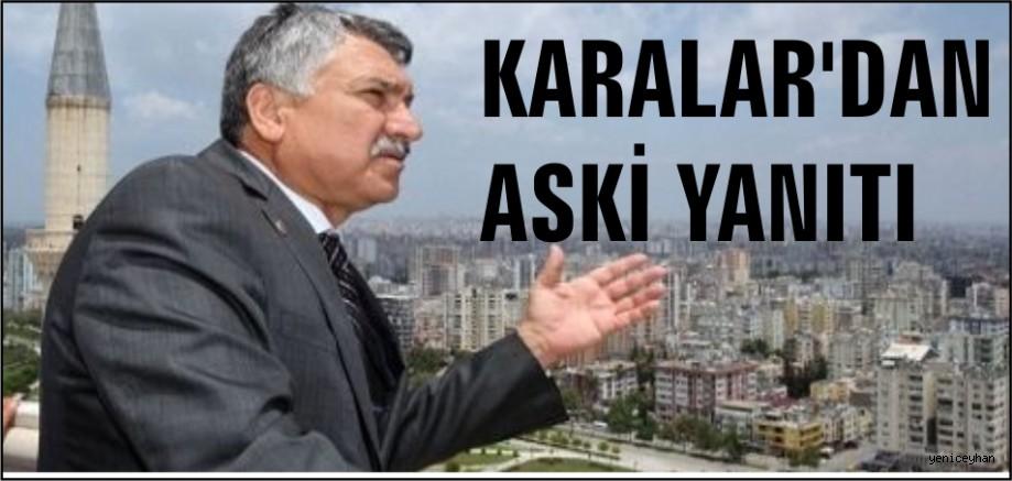ZEYDAN KARALAR'DAN ASKİ HABERİNE YANIT